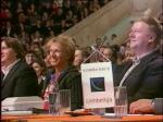 Анатолий Чубайс в жюри КВН 2003 год