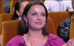 Жена Маслякова младшего Ангелина на игре Премьер Лиги 2011 год