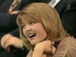 Юля Меньшова в жюри КВН 2002 год Высшая лига