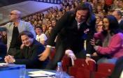 Ревва перелазиет на свободное кресло Жюри, день рождения КВН 2014