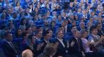 Путин на КВН в зале